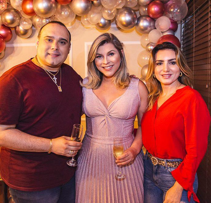 Julio Macedo, Genice Brandao E Jack Maya