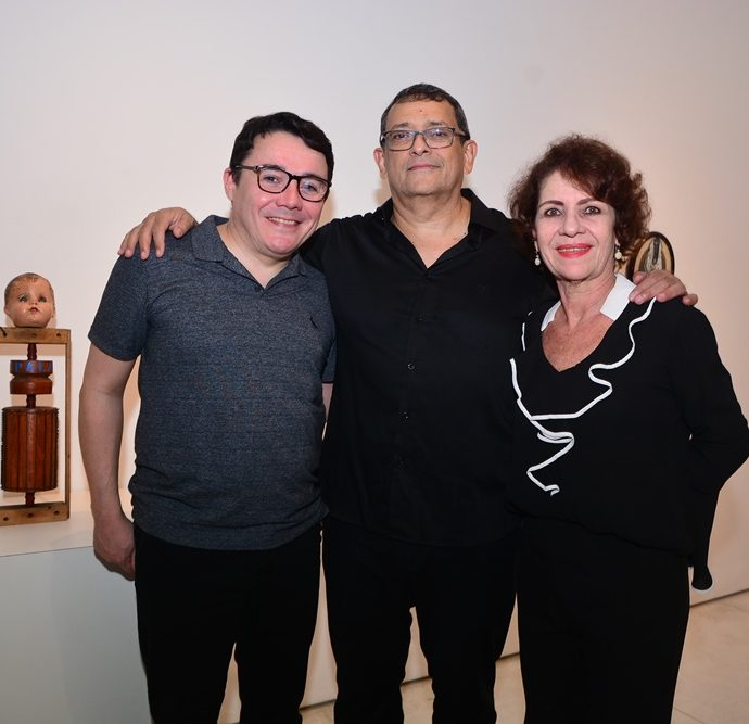 Júnior Gomes, José Guedes E Lilian Quinderé