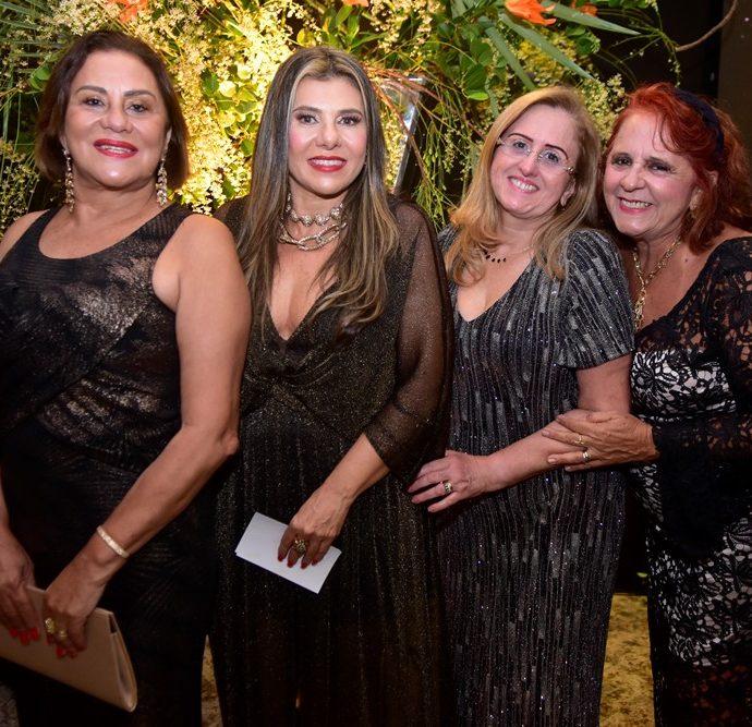 Karina Sampaio, Erika Ximenes, Edna Cavalcante,, Fatima Duarte