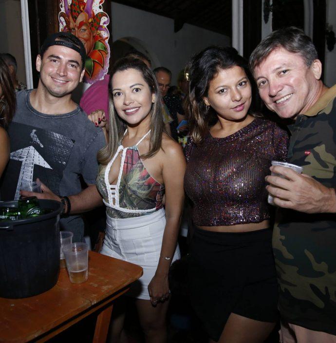 Katiane Matos, Yuri Costa, Kesia Pinheiro, Alene Paixao E Daniel Araujo