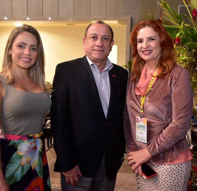 Keila Moreira, Tony Sando, Enid Câmara