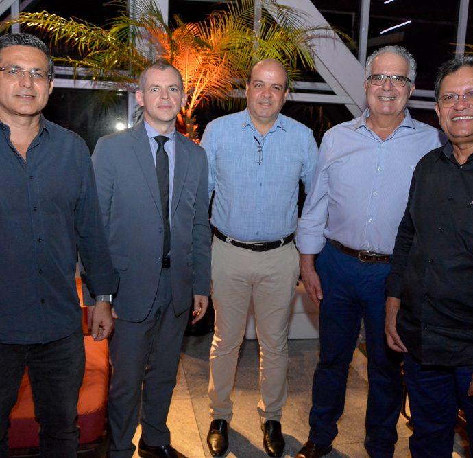 Kleber Pereira, Luiz Roberto, Paulo Cesar, Gilson Mansor E Andre Varela