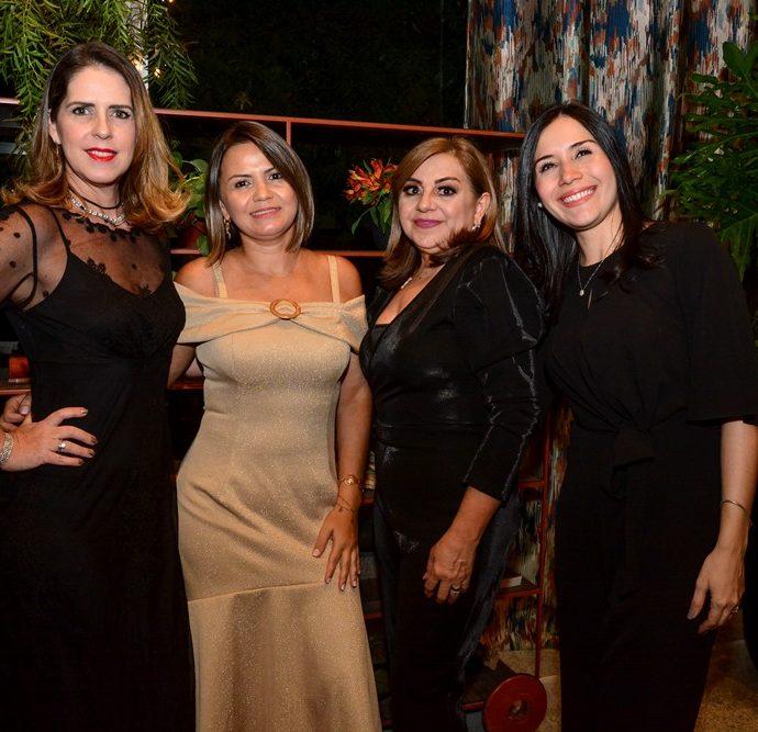 Lara Freimanis, Meire Freitas, Marta Pinheiro E Daiane De Castro