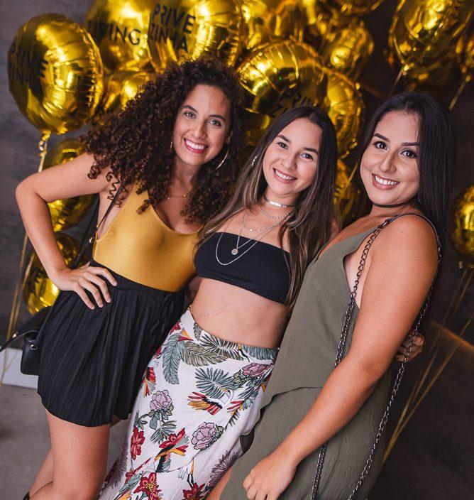 Laura Gomes, Leticia Freire E Alana Goncalves