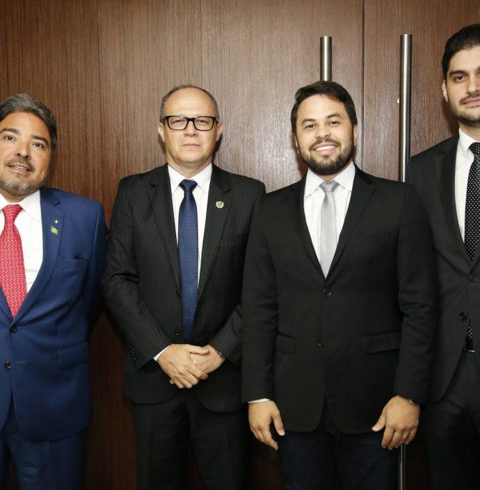 Leandro Vasquez, Juarez Junior, Anderson Palacio E Manaces Quindere