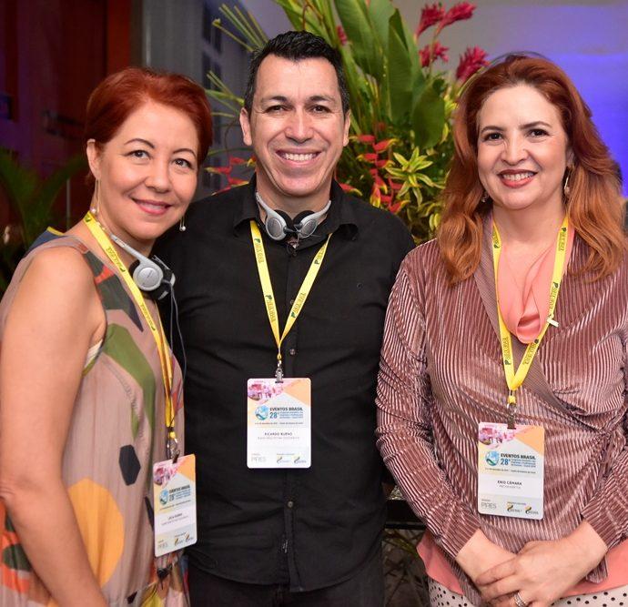 Leila Boeno, Ricardo Boeno, Enid Câmara