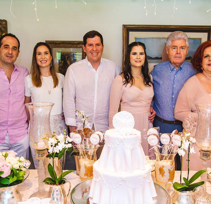Leonardo, Fabia, Rodrigo, Camile, Lucio E Ana Virginia Carneiro