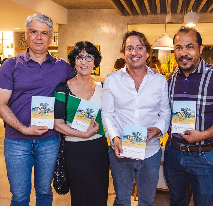 Leonardo Vidal, Denise Mattar, Rodrigo Parente E Antonio Almeida