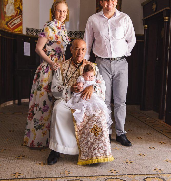 Lia Lousada, Padre, Celine Carneiro E Anderson Quintao