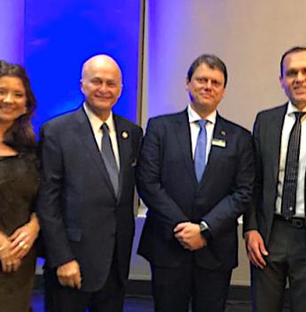 LIDE Global realiza homenagem a empresários de destaque no País