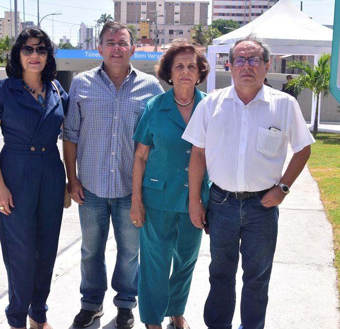 Lise Veras, Sérgio Alcantara, Vanda Veras, Clayton Alcantara