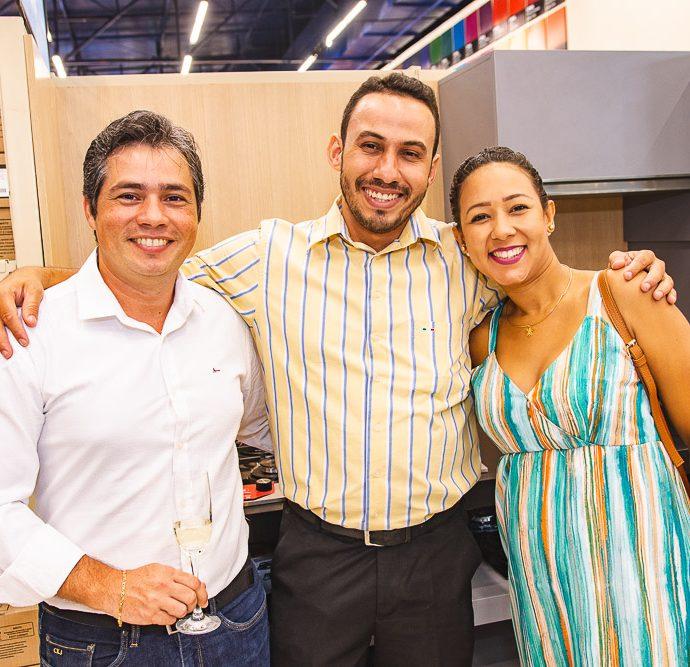 Lorival Fontes, Grazian Correia E Janara Guimaraes