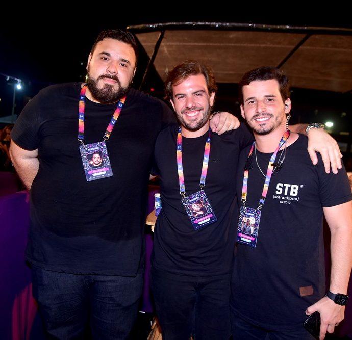 Lucas Coelho, Claudio Nelson, Kleiton Holanda