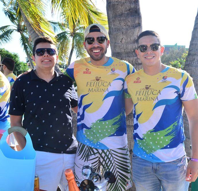 Lucas Gomes, Victor Carneiro, Renan Andrade