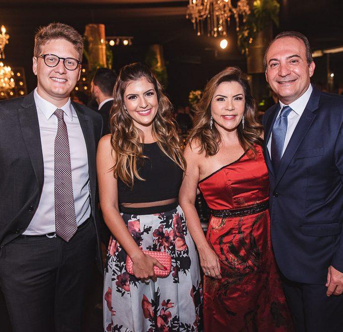 Lucas Lobo, Rebecca Bonorandi, Andrea Bonorandi E Dante Bonorandi
