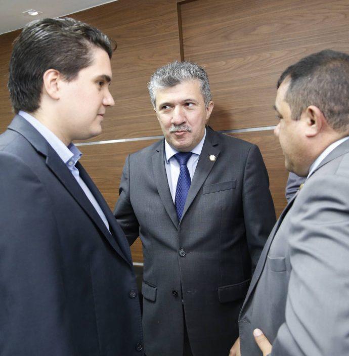 Lucas Xavier, Antonio Henrique E Raimundo Filho