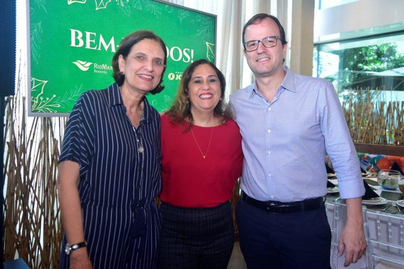 Confraternização - João Carlos Paes Mendonça recebe a imprensa para special lunch no RioMar Fortaleza