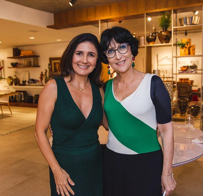 Luciana Cidrao E Denise Mattar