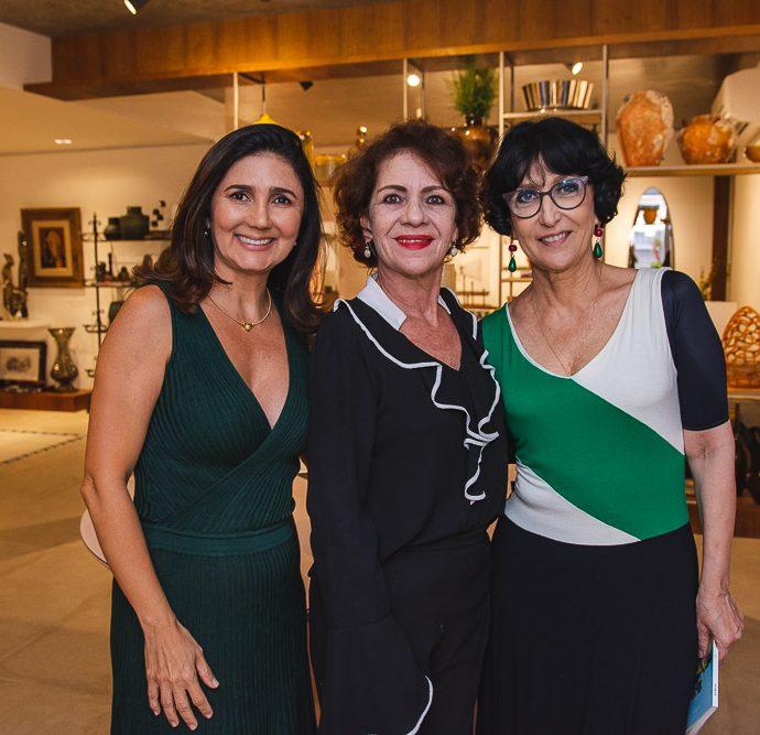 Luciana Cidrao, Lia Quindere E Denise Mattar