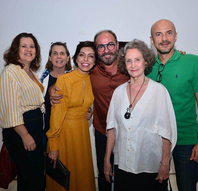 Luciana Eloy, Vânia Frank, Bianca Cipolla, Marcus Novais, Guiomar Marinho E Tito Flávio