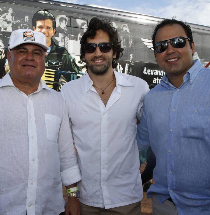 Luciano Cavalcante, Davi Fiuza E Leonardo Cavalcante