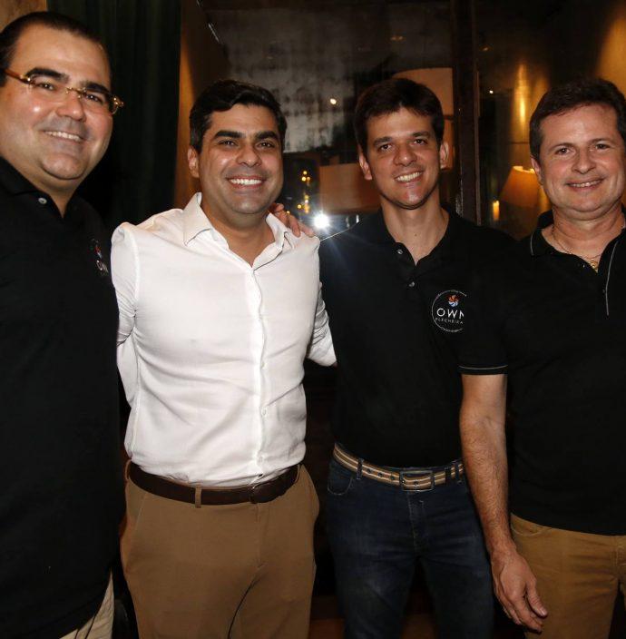 Luciano Neto, Queiroz Filho, Pedro Caminha E Marcos Andre
