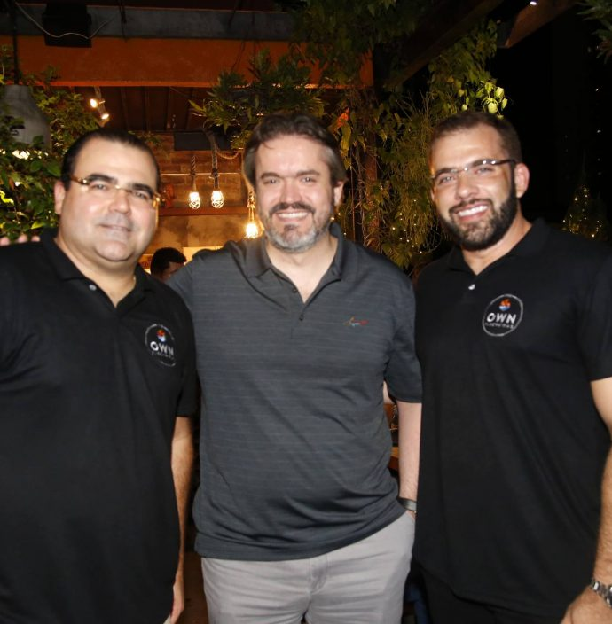 Luciano Neto, Rodrigo Sousa E Jaime Veras