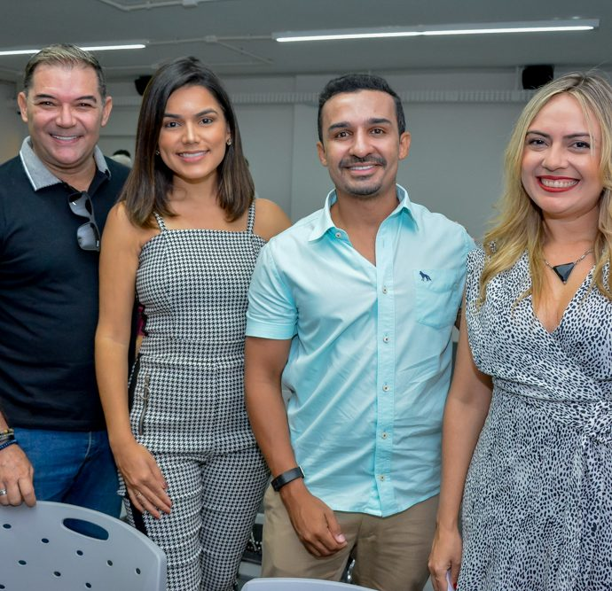 Luciano Rocha, Andreia Nasser, Felipe Moura E Monika Vieira