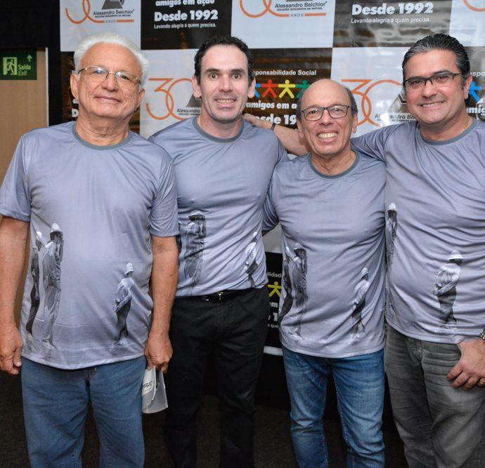 Luiz Carlos Martins, Janos Cavalcante, André Montenegro E José Jorge Vieira
