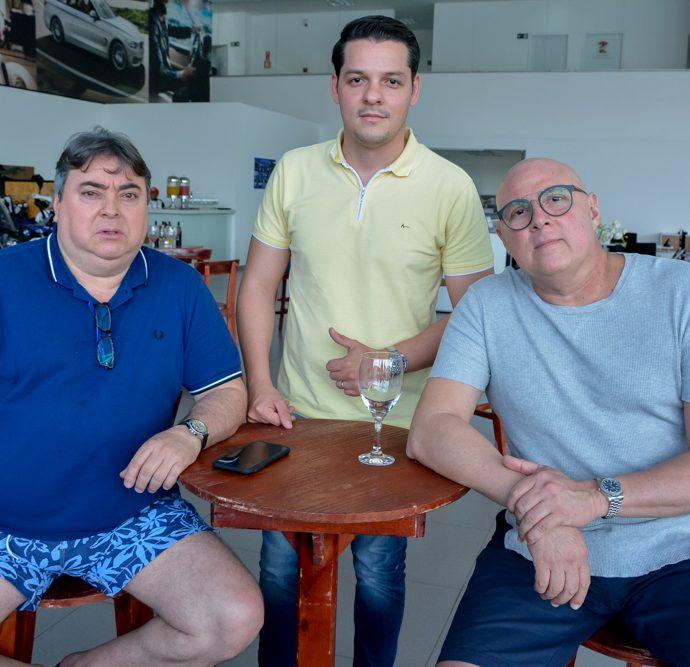 Luiz Silva, Saulo Parente E Hildo Pontes