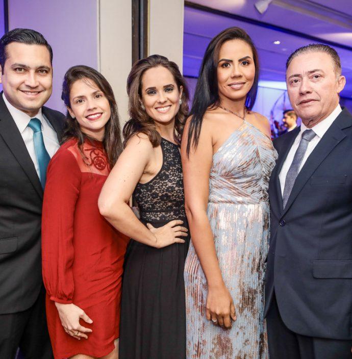 Luiz Sobreira, Iris, Talita, Ana E Darlan Leite