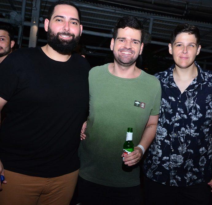 Luiz Victor Torres, Felipe Amorim, Taiana Rocha