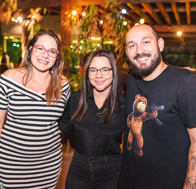 Maira Pereira, Juliana Rocha E Oscar Filho