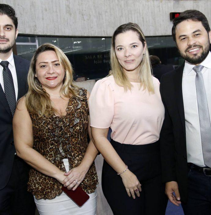 Manaces Quindere, Anita Erika, Kelly Shilin E Anderson Palacio