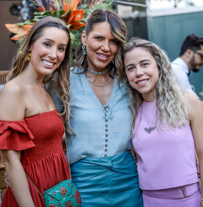 Manoela Mota, Carolina Bezerra E Mirela Rocha
