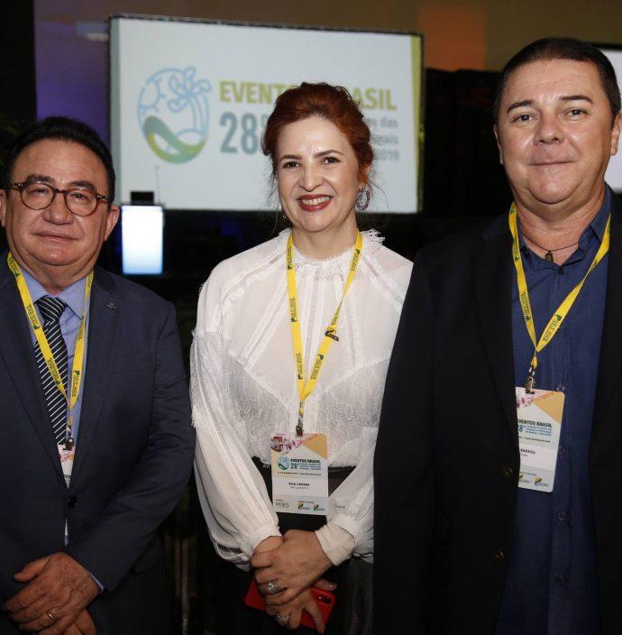 Manuel Linhares, Enid Camara E Eliseu Barros