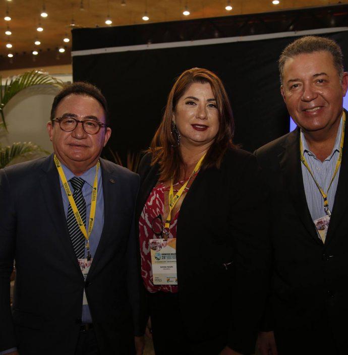 Manuel Linhares, Fatima Facuri E Alexandre Samapio