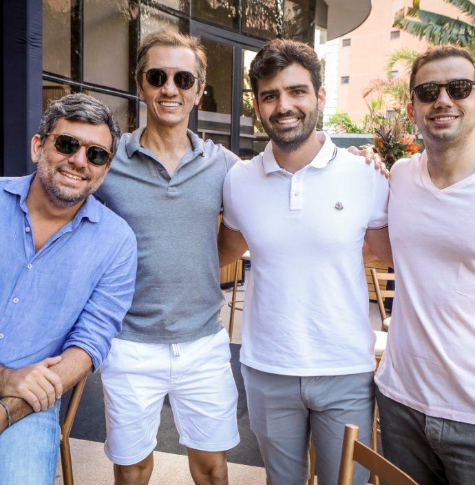 Marcelo Franco, Marcelo Marfrutas, Francisco Feitosa E Saide Bayde