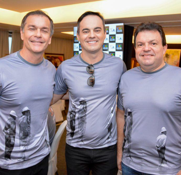 Marcelo Mendes, Wagner Sousa E Fernando Ferrer