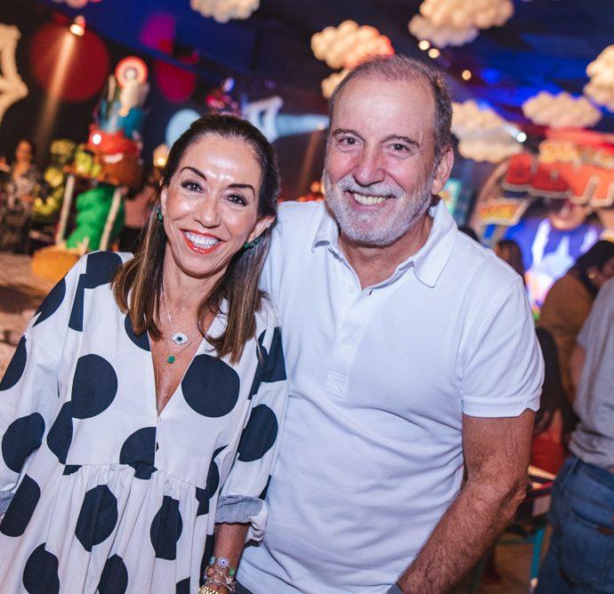 Marcia Tavora E Binho Bezerra