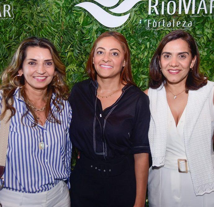 Marcia Travessoni, Michele Ribeiro, Karina Farani