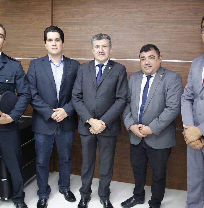 Marcilio Tavora, Lucas Xavier, Antonio Henrique, Raimundo Filho E Sargento Reginauro