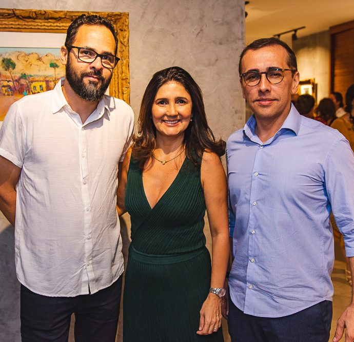 Marco Ribeiro, Luciana Cidrao, Delano Belchior