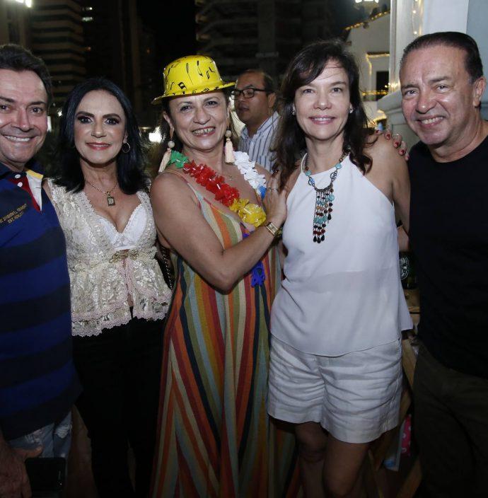 Marcos Chaves, Dior Bernardo, Maslova Mesquita, Karina Saboya E Werner Rolim