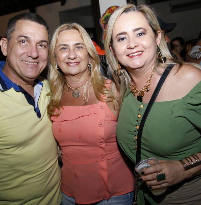 Marcos Dias, Katia Romcy E Val Vasconcelos