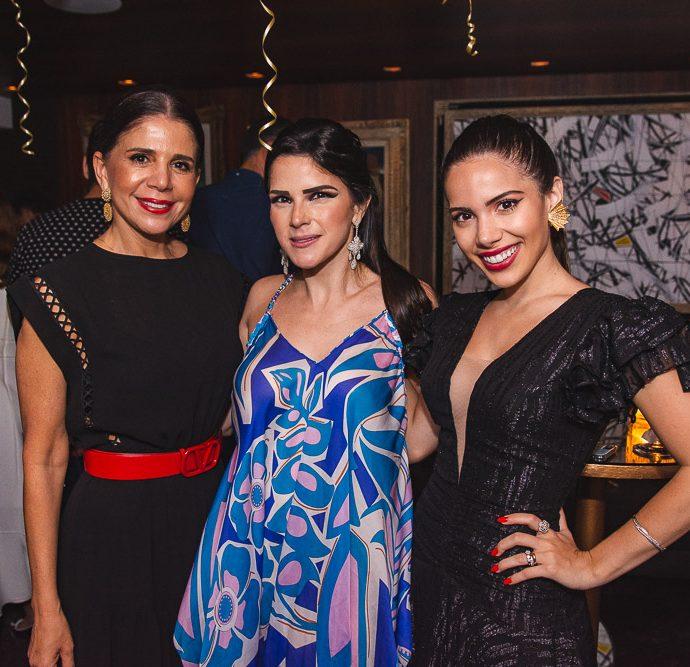 Maria Lucia Negrao, Marilia Vasconcelos E Nicole Vasconcelos