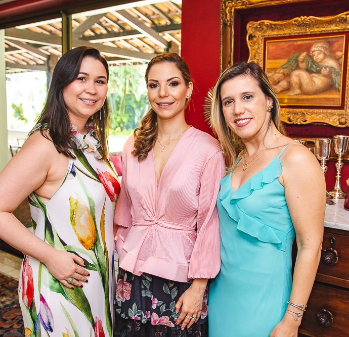 Mariana Carneiro, Yuska Castelo Branco E Ivina Pinheiro