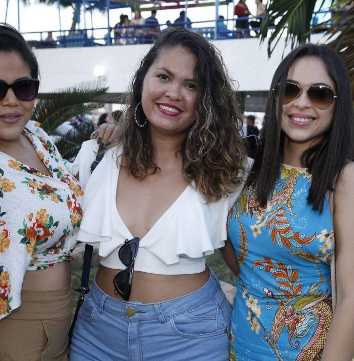 Marilia Gabriela, Valeria Alves E Thais Vieira