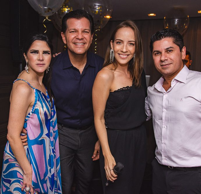 Marilia Vasconcelos, Gustavo Serpa, Giovana Bezerra E Pompeu Vasconcelos
