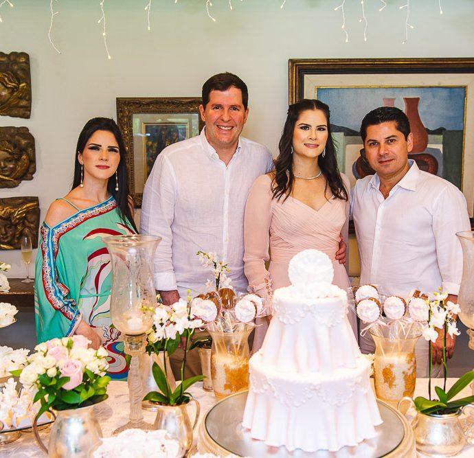 Marilia Vasconcelos, Rodrigo Carneiro, Camile Carneiro E Pompeu Vasconcelos